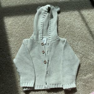 Winter infant coat